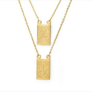 Jewelry - Dual Religious Pendant Necklace